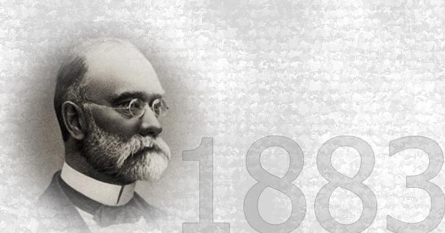 CARL I  ADOLF VORWERK OSNOVALI  SU FABRIKU TEPIHA VORWERK & CO.<br>1883